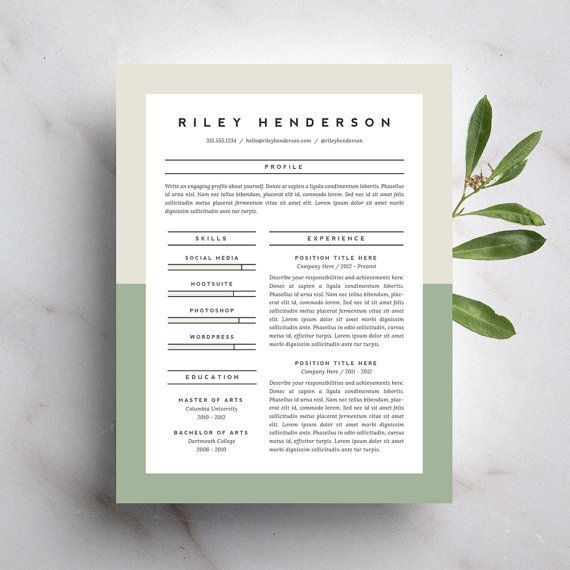 25  best cover letter design ideas on pinterest