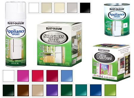 Rustoleum Colors For Touch Up On Kitchen Appliance Epoxy Touch Up