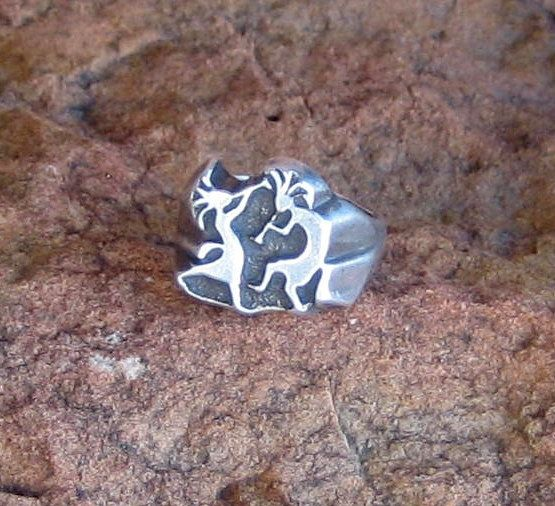 Hey, I found this really awesome Etsy listing at https://www.etsy.com/listing/203655039/vintage-hopi-sand-cast-sterling-silver