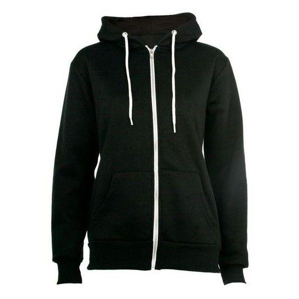 Black Zip Up Hoodie ❤ liked on Polyvore featuring tops, hoodies, hooded zip up sweatshirt, hooded sweatshirt, faux fur hoodie, zip up tops and zip up hoodies