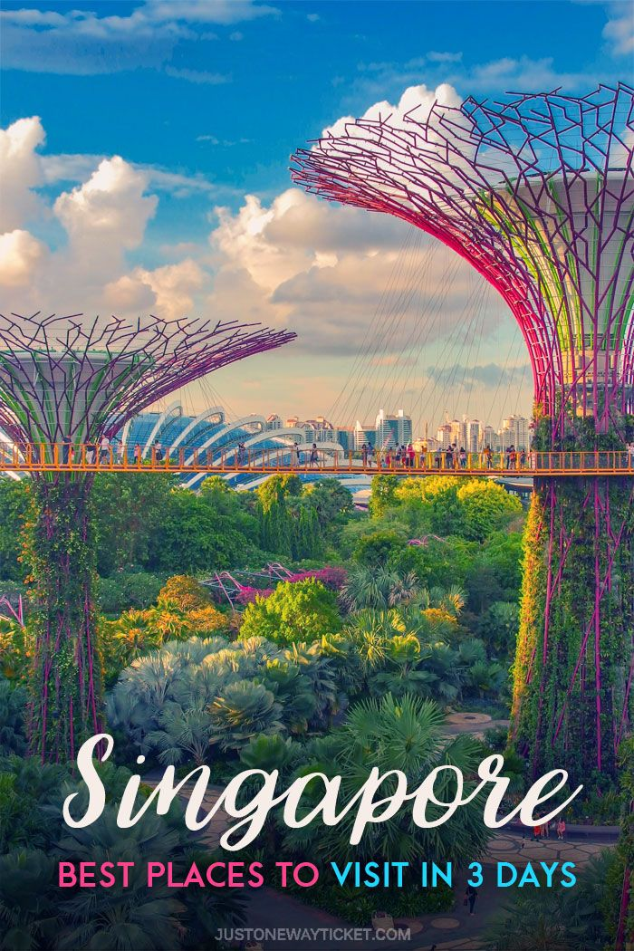 Best Places To Visit In Singapore In 3 Days Cool Places To Visit