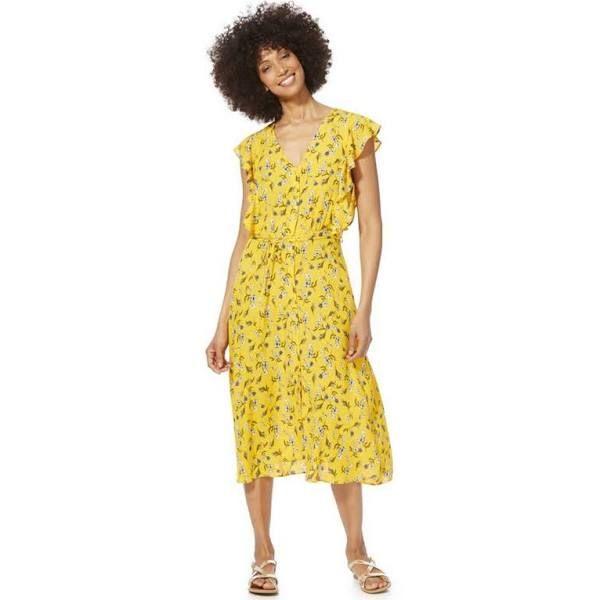 F&F Floral Button Through Tea Dress   Fashion outfits
