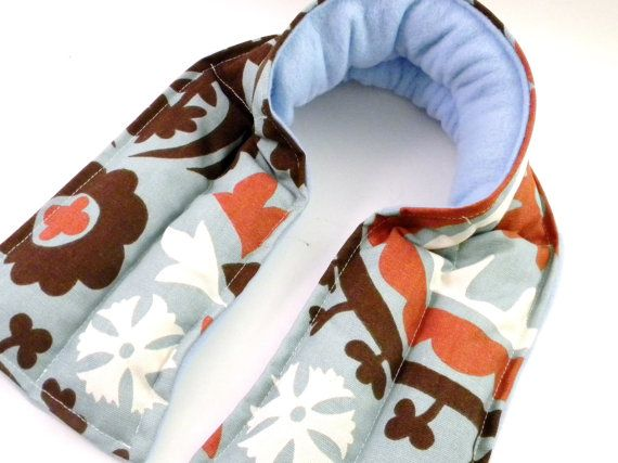 Extra Long Neck Heat Wrap Rice Heating Pad by theferriswheels, $22.95