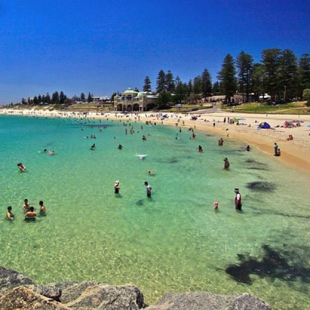 #Perth's Cottesloe Beach