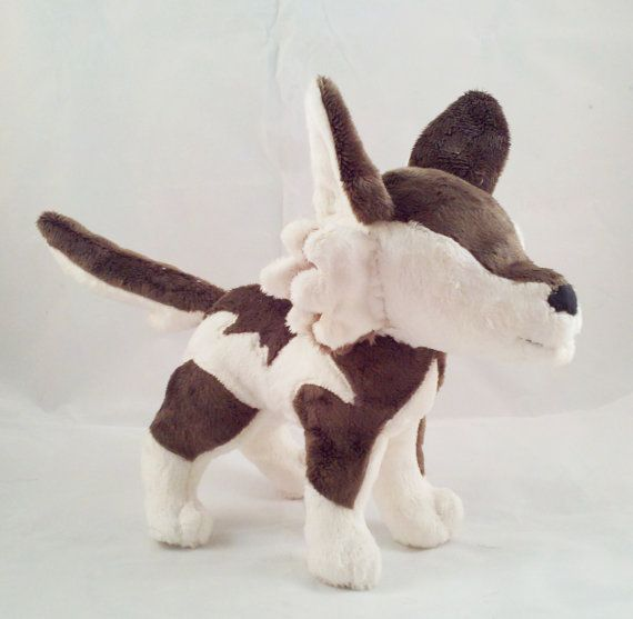 Instant Download Wolf Plushie Pattern by dolphinwing on Etsy