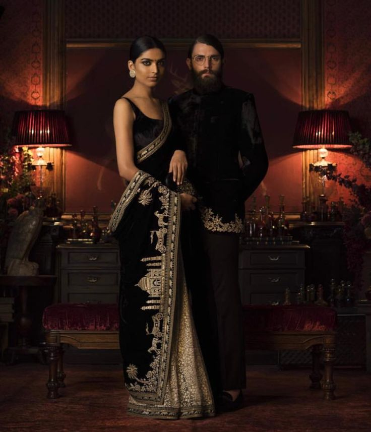 Beautiful Taj Mahal And Doli Barat Embroidery Saree By Sabyasachi Is Now At Lady Selection Showrooms