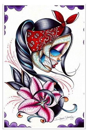 Star Gazer Art Print #rebelcircus #rebel #circus #goth #gothic #punk #punkrock #rockabilly #psychobilly #pinup #inked #alternative #fashion #clothing #clothes #style #retro #style #rock #grunge