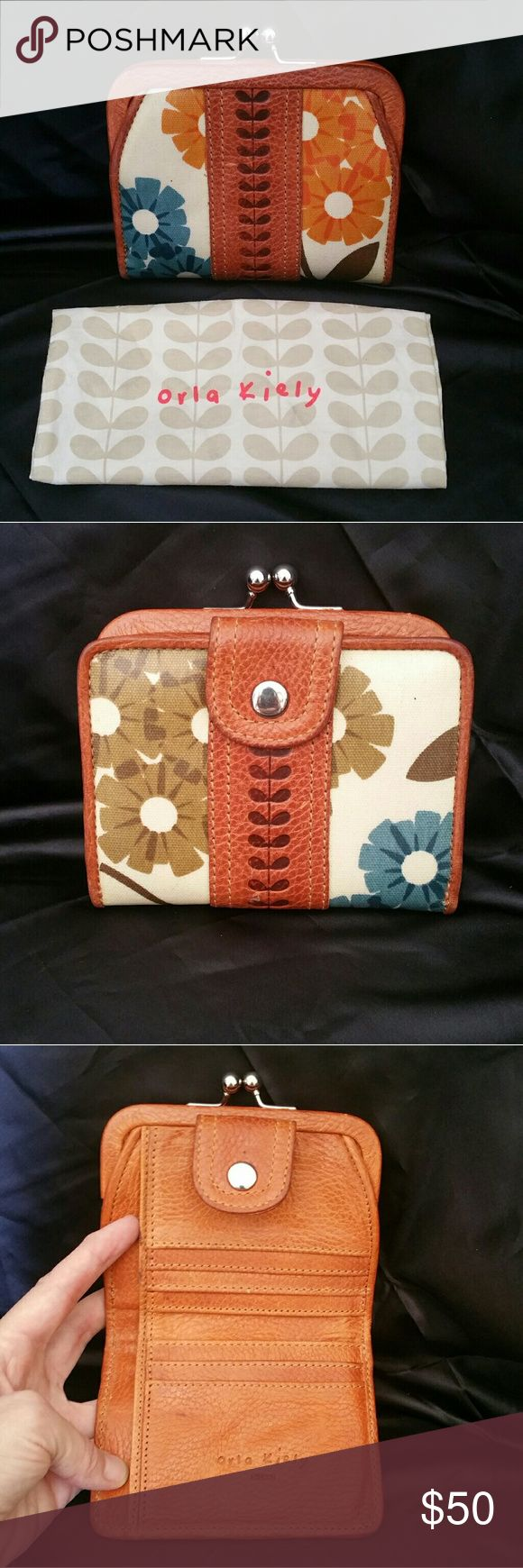 Orla Kiely Wallet So sturdy,  so cute, so needs to be yours. Orla Kiely Bags Wallets