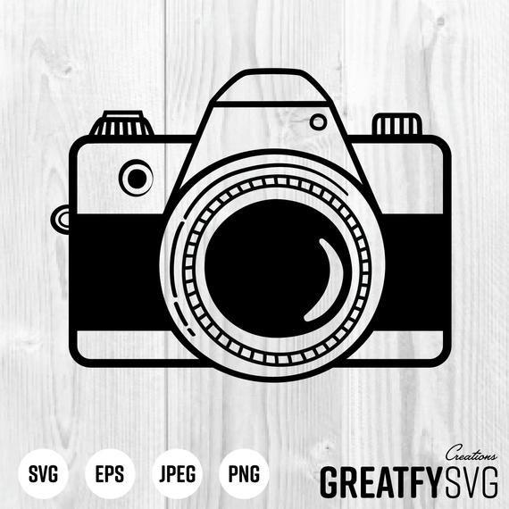 Camera Svg Camera Clipart Vector Camera Camera Logo Camera Etsy In 2021 Camera Logo Camera Clip Art Camera Drawing
