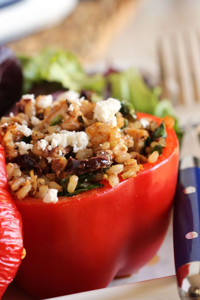 ... Stuffed Peppers on Pinterest | Easy Turkey Recipes, Ground Beef Rice