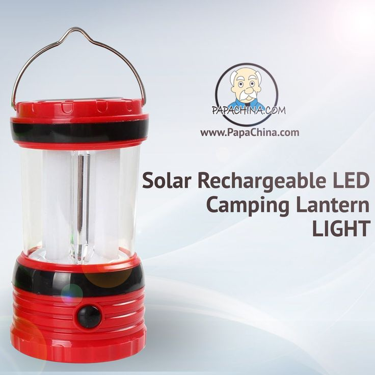 Choose the right promotional item by sending the Solar Rechargeable LED Camping Lantern Light. Its functionality of emergency, charging and features like environmental protection, can charge mobile phones, three charging ways, adopt 8 x LEDs, energy saving, use 3 x 4.8V / 2000mAH lithium battery, dual solar panel are a sure hit for any marketing activity.