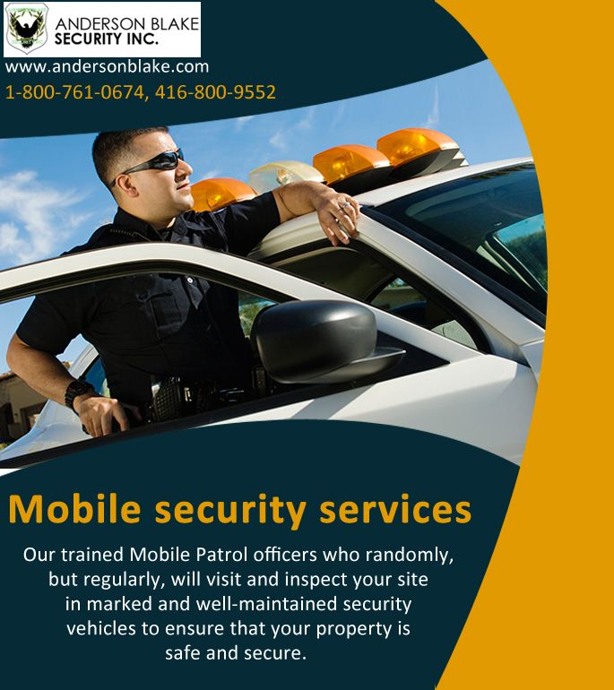 #Mobile_Security_Services #Mobile_Security_Services_Brampton #Mobile_Security #Security_Services Call at: 1-800-761-0674, 416-800-9552 and visit here:http://www.andersonblake.com/mobile-patrol-security-services-brampton.html
