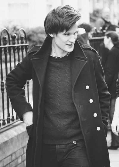 Matt Smith is unspeakably brilliant. He's gorgeous, talented as hell, amazing with kids, hilarious, and British. He's my favorite human being right now. ;D