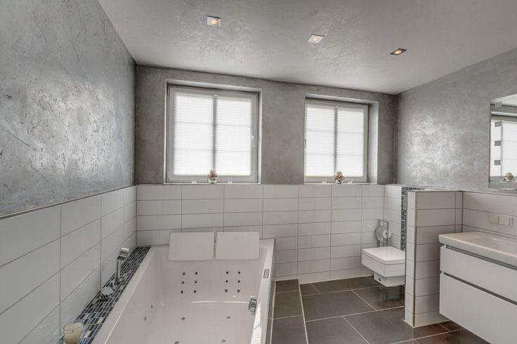 Nice Volimea Kreativwand und Decke im Bad Sch ne R ume Interior Design Pinterest