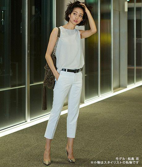 ユニクロ|シンプルにかっこよく!夏を乗り切る「ワーク・スマート」な着こなし術|WOMEN(レディース)|公式オンラインストア(通販サイト)