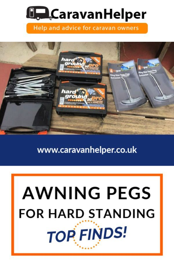 Best Awning Pegs For Hard Standing Caravan Pitches Caravan Awning Caravan Decor