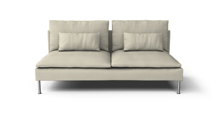 Soderhamn 3 Seat Section Sofa Cover - Beautiful Custom Slipcovers | Comfort Works
