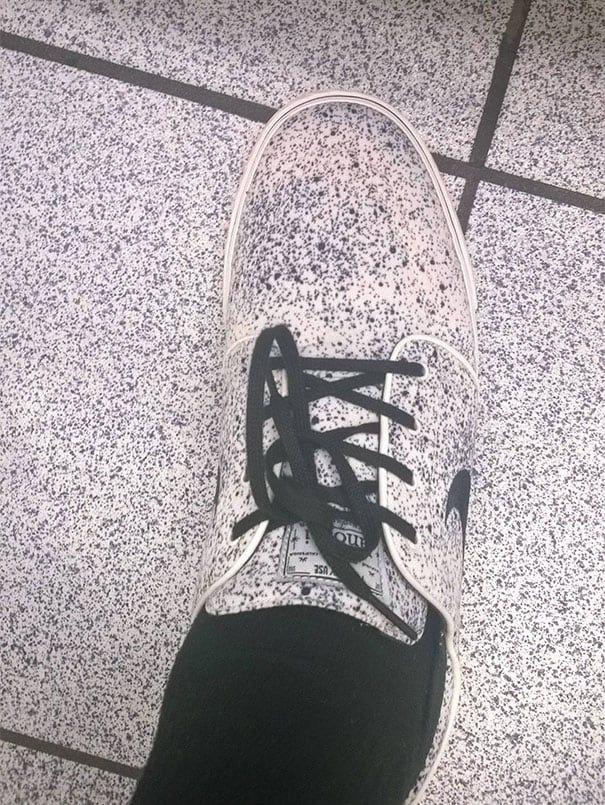 ¡Qué creativos los diseñadores de Nike! Inspirados en piso