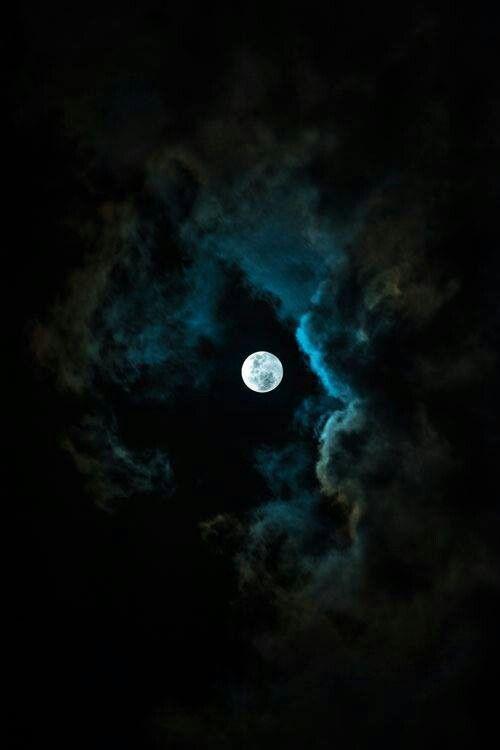 Black, white and dark blue wallpaper😱😍
