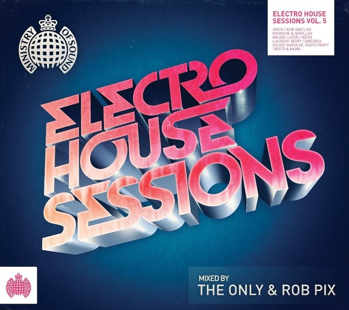 -Ministry Of Sound Australia  -Electro House Sessions 5 Front Cover