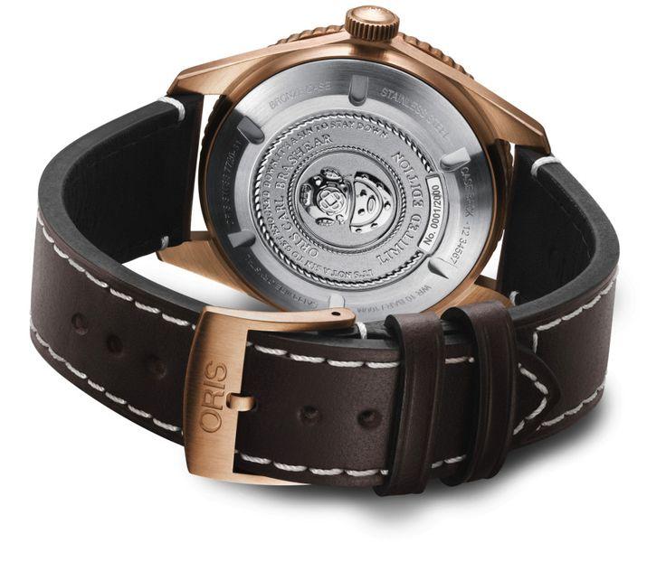 Oris Carl Brashear Limited Edition Tribute watch - caseback - Perpetuelle