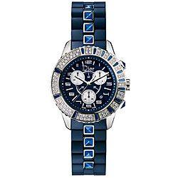 Christian Dior Christal Chrono Sapphire Women's Watch