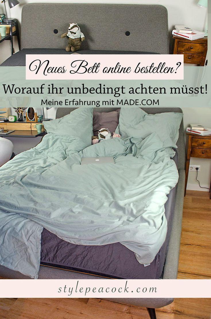 Mein Neues Bett Vernetzteuch Interior Pinterest Bedroom