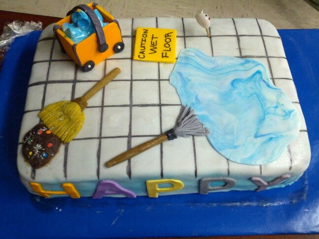 Janitorial Cake by Mrs. Bee | Cakes by Mrs. Bee ...