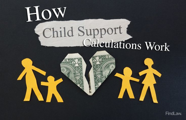 Learn how child support calculations work