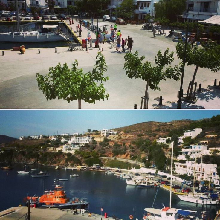 The view from our rooms...not a bad way to start the day! #skyros #island #greece #roomstolet #travel #summer #easter #sea #smallport #sailing #aegeansea #sporades