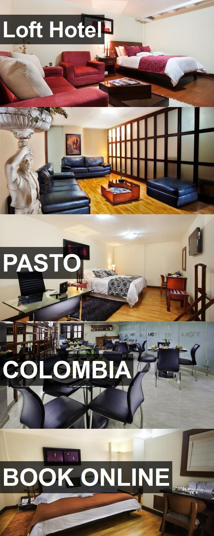 Loft Hotel in Pasto, Colombia. For more information, photos, reviews and best prices please follow the link. #Colombia #Pasto #travel #vacation #hotel