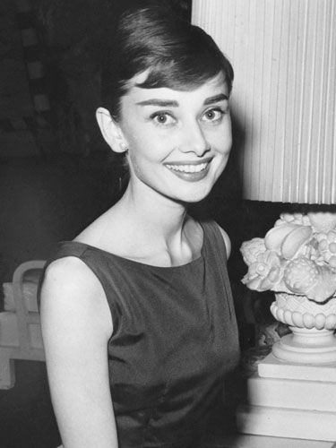 CELEBRITIES WITH SHORT HAIR The classic Audrey Hepburn pixie cut will never get old.
