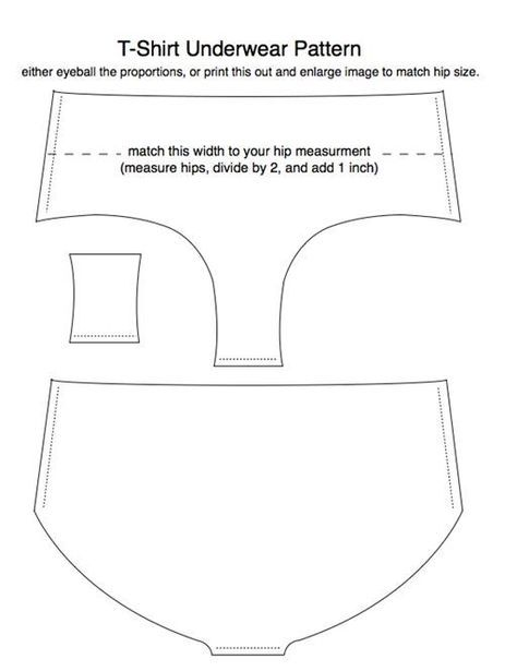 Old T-Shirts Reincarnated as Underwear