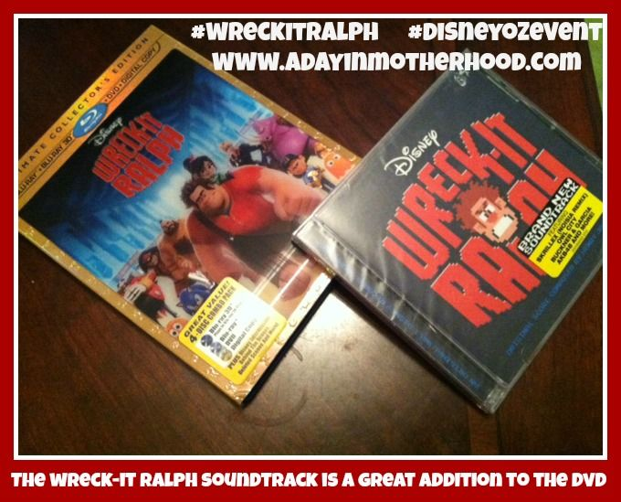 Wreck-It Ralph is OUT on Blu-Ray Combo Pack Review & Giveaway    http://www.adayinmotherhood.com/2013/03/wreck-it-ralph-dvd.html#    Wreck-It Ralph #WreckItRalph #DisneyOzEvent