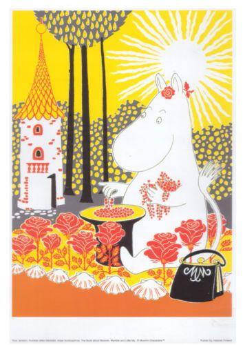 Moomin Poster Moominmamma Tove Jansson