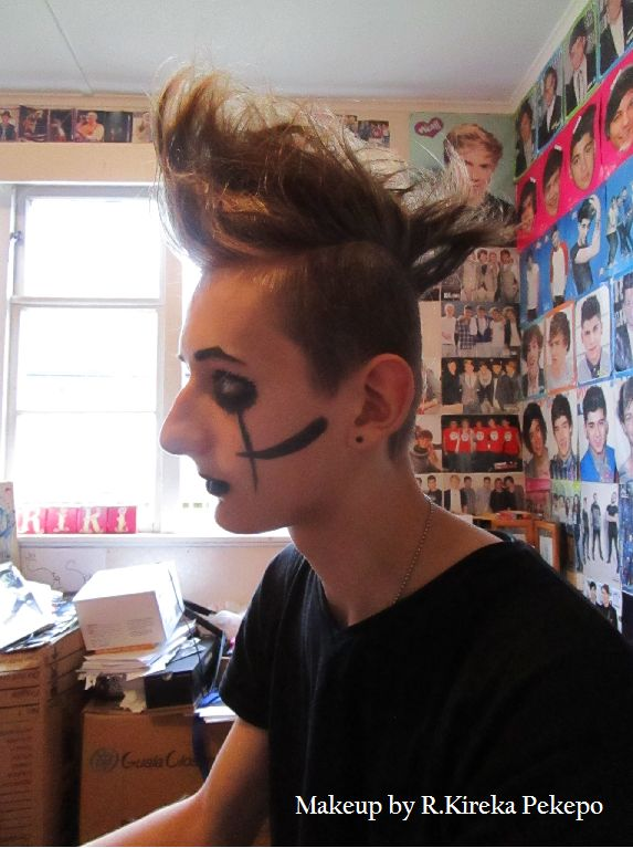 Black Veil Brides/Andy makeup. modeled by @ImreWaSch