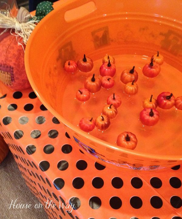 Fall Festival Game-Pick Up Pumpkins