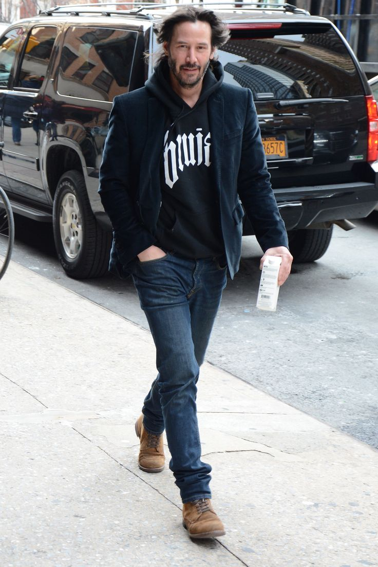 Keanu Reeves Shows You How to Wear a Blazer Everywhere and with Everyt Photos | GQ