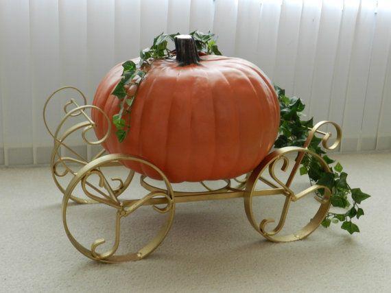 Gold Cinderella Pumpkin Carriage