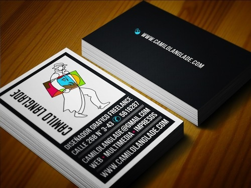 Business Card Is A That Displays The Ideny Of In Simple Terms Provided To Customers And Clients