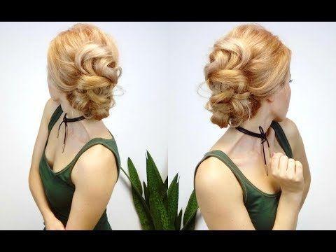 SUPER EASY HAIRSTYLE ELEGANT UND EASY BRAIDED UPDO, #Braided #Easy #Elegant #eleganteveryday ...