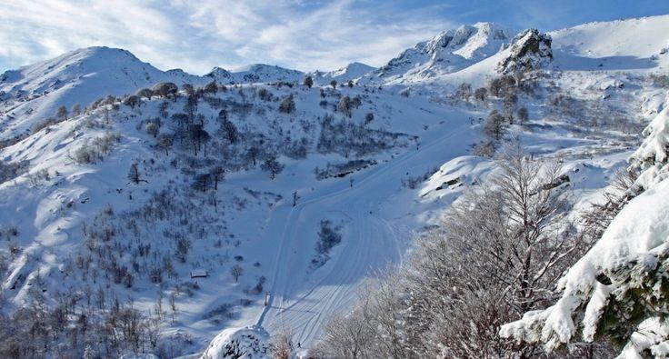 Corsica - Corti - Corte - Ghisoni les bergeries de Capanelle. Station de ski Ghisoni-Capanelle.