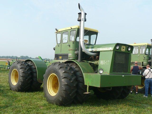 Large John Deere Farm Tractors : Big bud tractors of the first turbocharged farm