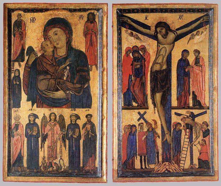 Sant'Antonio da Padova,san Francesco,altri santi,Madre di Dio,Passione