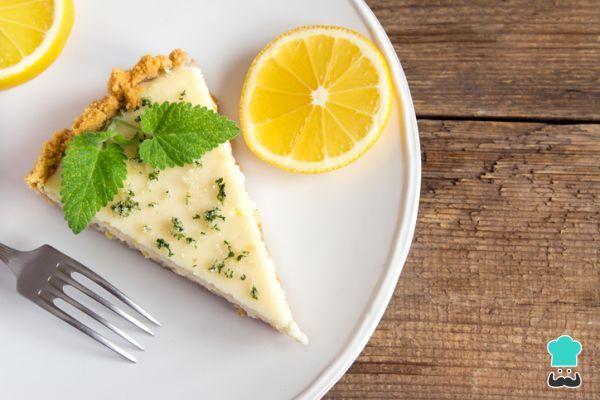 Receta de Tarta de limón y leche condensada