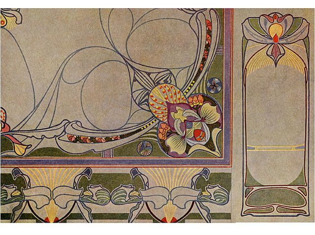 423 Art Nouveau Designs and Motifs