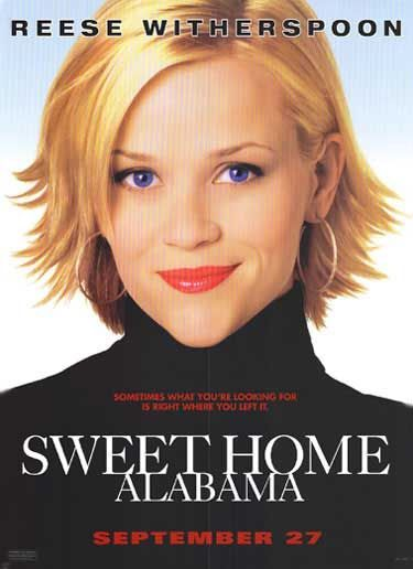 """Why do you wanna marry me for anyhow? So I can kiss you anytime I want.""  A great line from one of favorite chick flicks - Sweet Home Alabama"