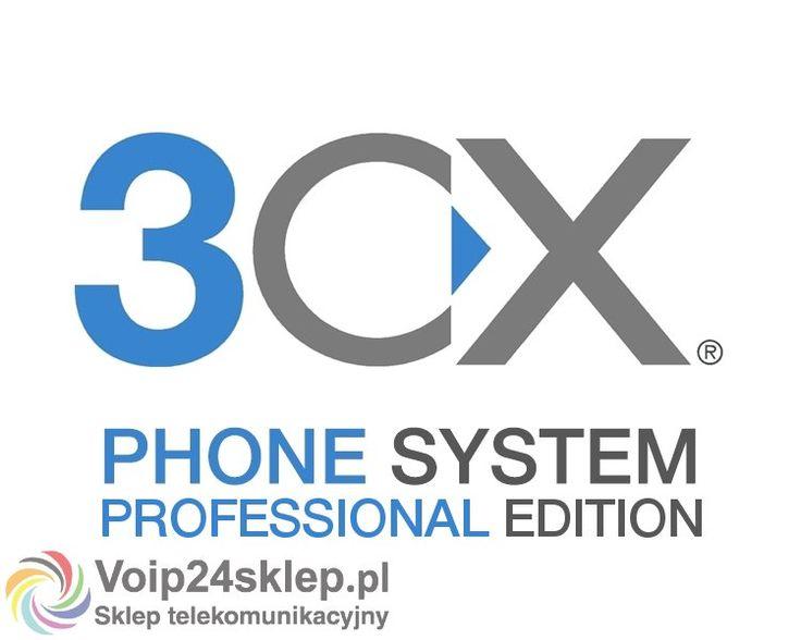 CENTRALA TELEFONICZNA IP 3CX PHONE SYSTEM PROFESSIONAL EDITION