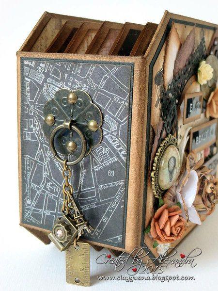 Cartographer Mini Album - Alexandra Morein