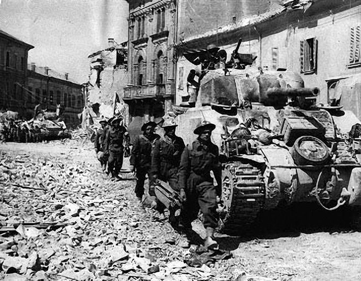 battle of ortona Infobox military conflict conflict=battle of ortona partof=italian campaign (world war ii) caption=canadian armour passing through ortona, by dr charles fraser comfort.